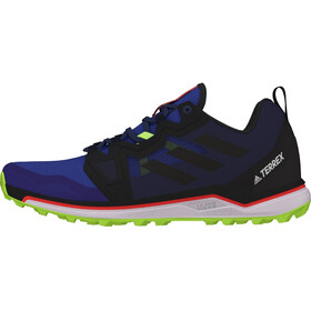 adidas TERREX Agravic Trail Running Shoes Men glory blue/core black/signal green